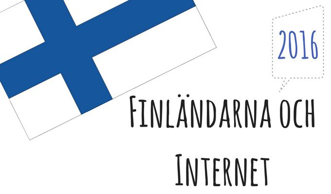 Finländarna och Internet - Kajsa Snickars
