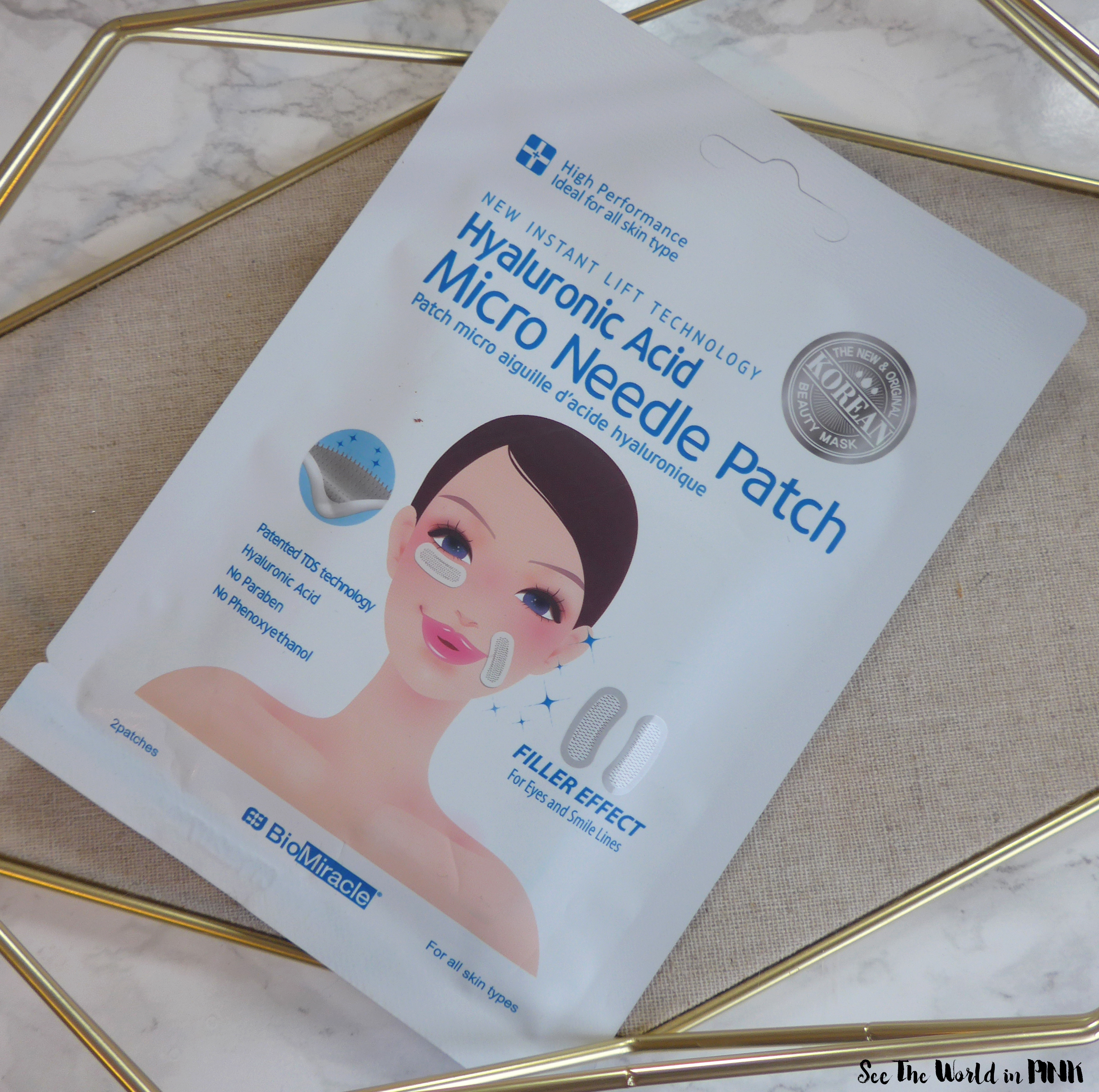 Skincare Saturday - BioMiracle Hyaluronic Acid Micro Needle Patch