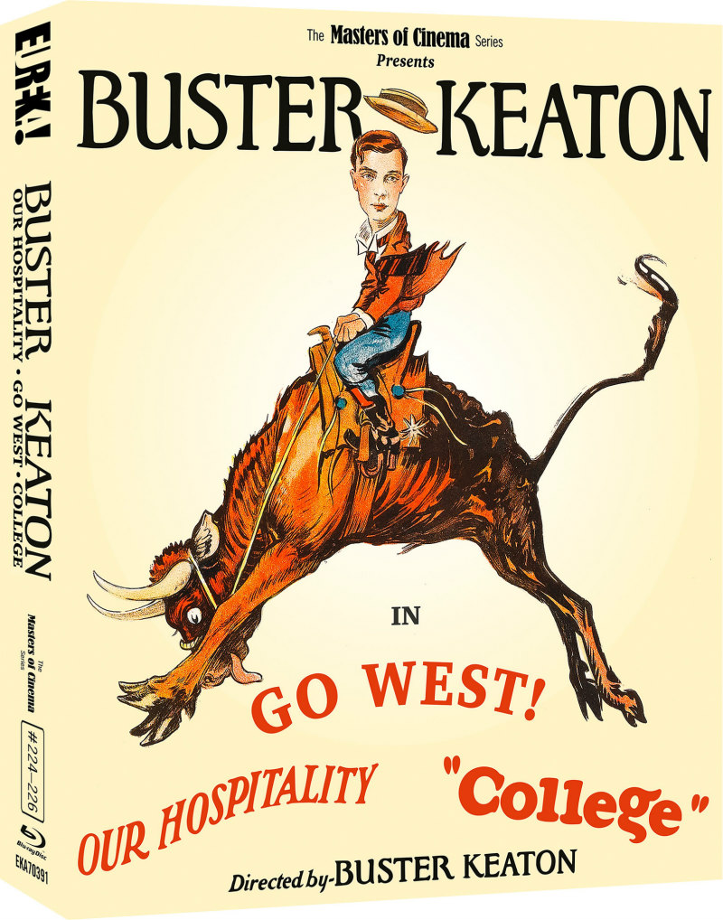 buster keaton 3 films bluray volume 3