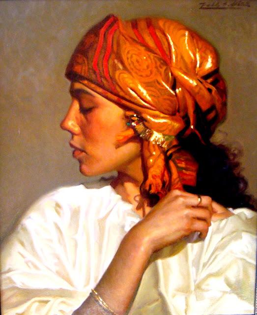 Pablo Segarra Chias 1945 | Spanish Realistic Figurative painter