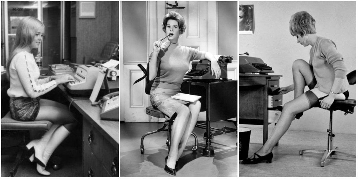20 Fascinating Vintage Photos of Secretaries From the 1950s and 1960s