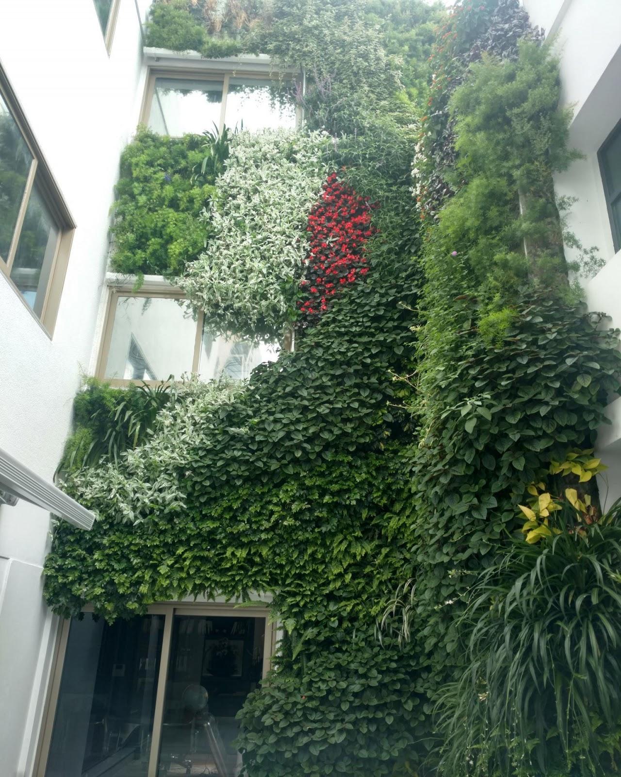 Los Jardines Colgantes Y Los Muros Verdes Ya Redefinen El Paisaje