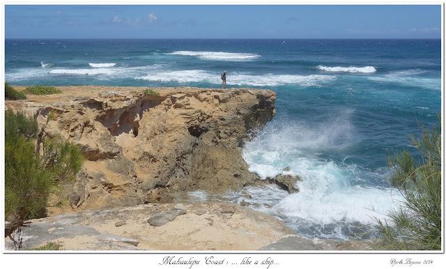 Mahaulepu Coast: ... like a ship...