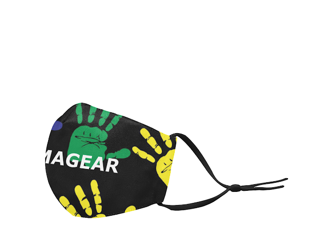 GOMAGEAR HANDS ON MASK