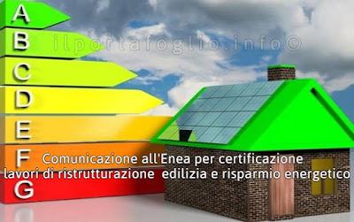 certificazione enea