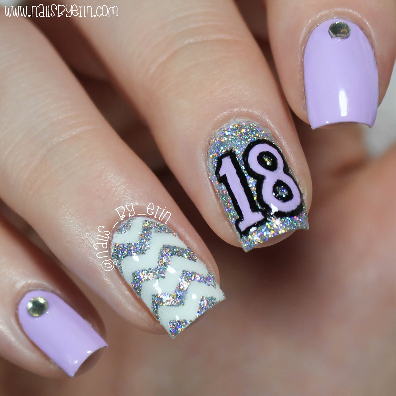16th Birthday Nails