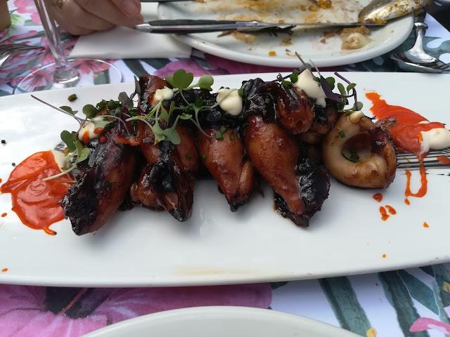 Restaurante La Bernarda - Chipirones encebollaos