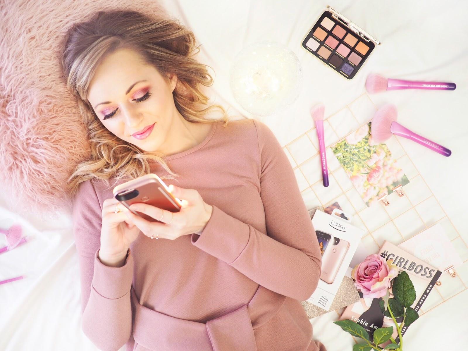 selfie tips, LuMee, light up phone case