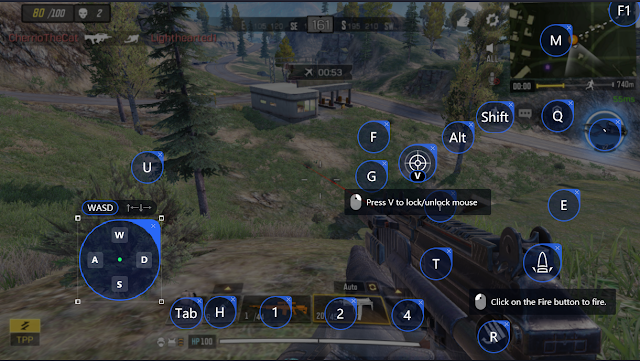 Cara Setting Key Mapping Call Of Duty Mobile di Tencent Gaming Buddy