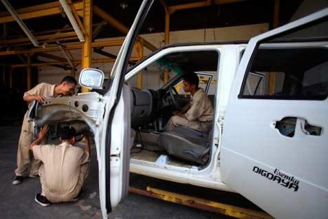 Komponen Mobil Esemka akan Diimpor dari China