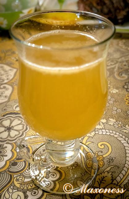 Горячий ромовый лимонад от Джейми Оливера