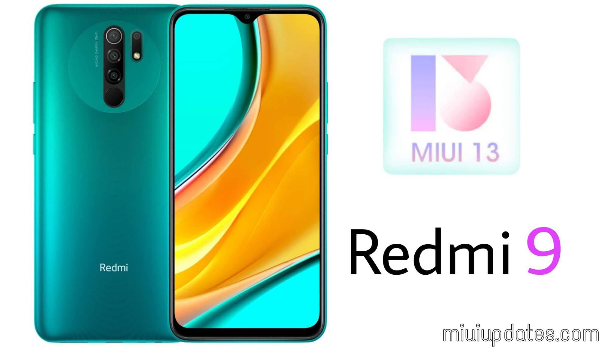 MIUI 13 for Redmi 9