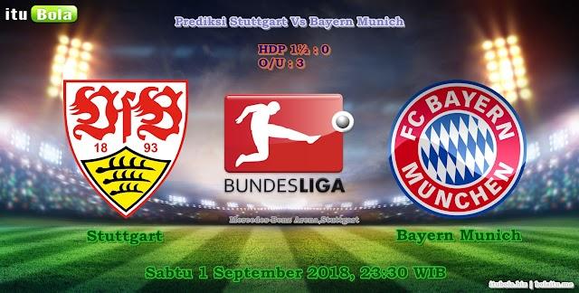 Prediksi Stuttgart Vs Bayern Munich - ituBola
