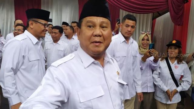 Prabowo Sambut Anies: Walaupun Bukan Kader, Tapi Hatinya Gerindra
