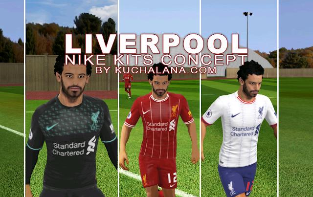 Liverpool FC 2019/2020 Nike Kit Concept