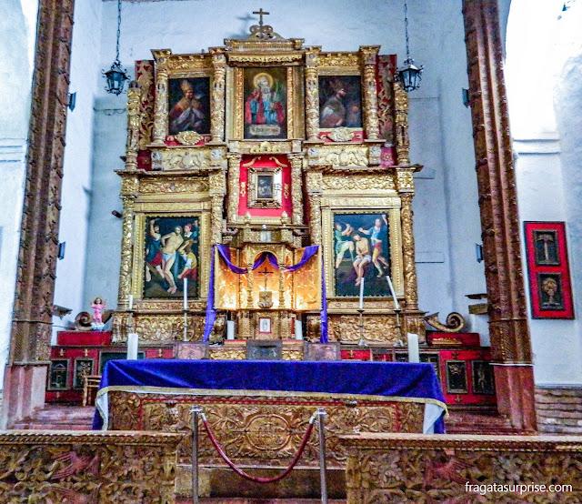 Igreja do Mosteiro de Ecce Homo, Villa de Leyva, Colômbia