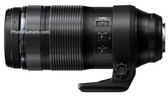 Объектив Olympus M.Zuiko Digital ED 100-400mm f/5.0-6.3 IS со штативным креплением
