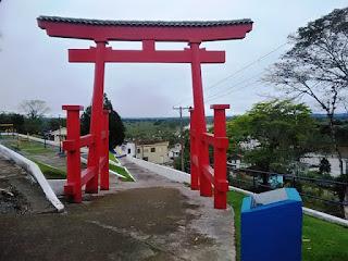 Com recursos próprios, prefeitura de Sete Barras realiza reforma da Praça da Colônia Japonesa