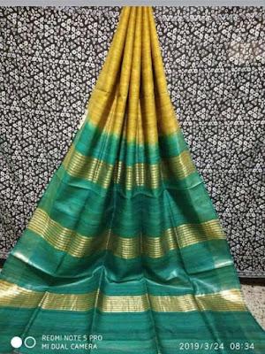 Tassar ghichcha Silk Saree