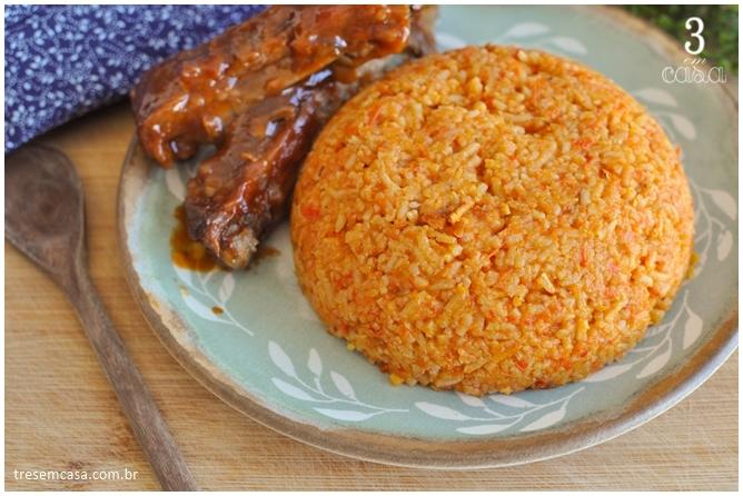 como fazer arroz jollof