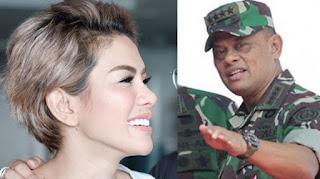 Nikita Mirzani Akan Kirim Surat Pada Panglima TNI, Isinya Begini