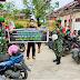 Kodim 0319/Mentawai: Patroli Penerapan Prokes Covid-19 Di Masa PPKM & Bagi Masker