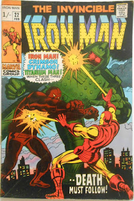 Iron Man #22, Crimson Dynamo and Titanium Man