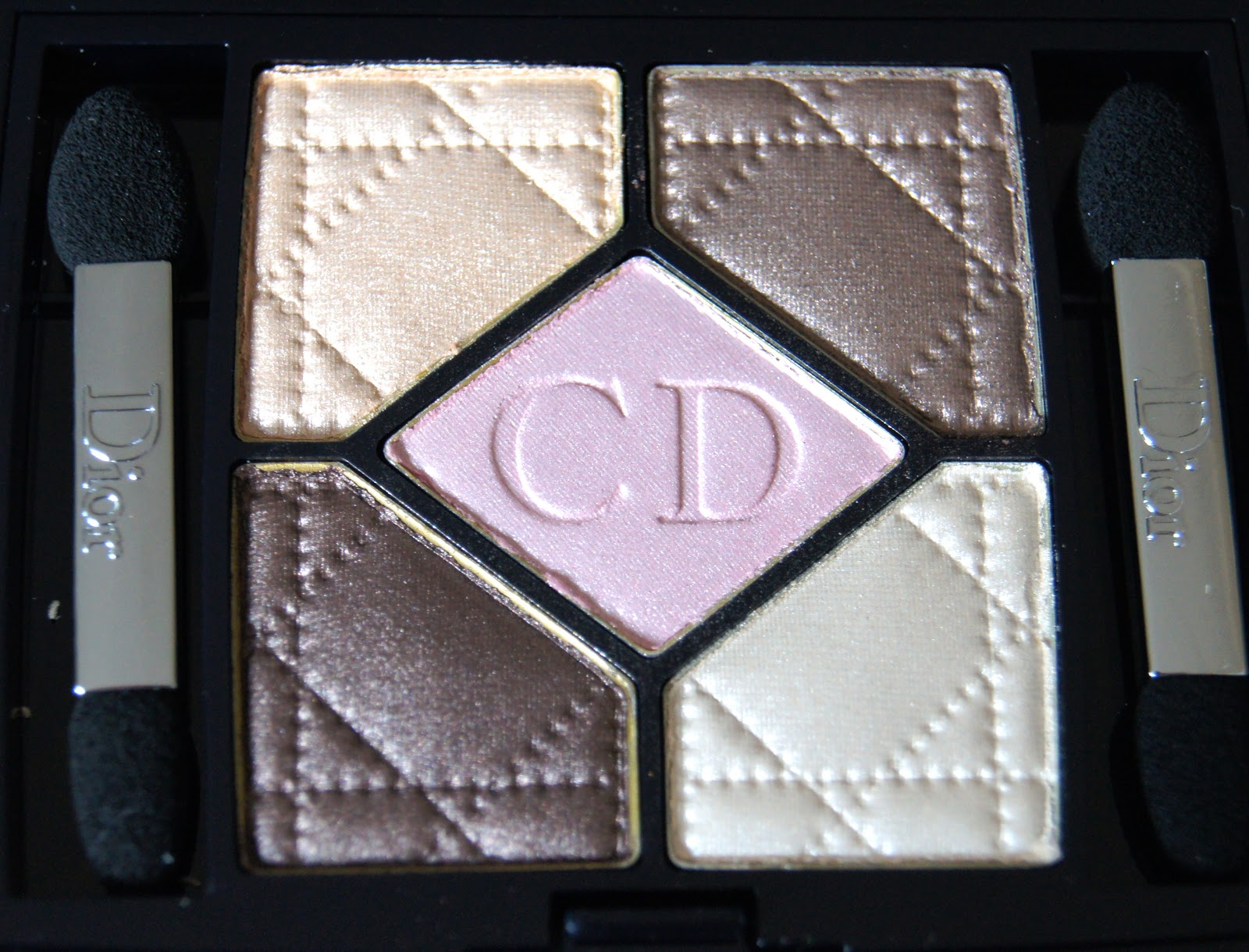dior 5 couleurs 609 earth reflection eyeshadow palette review