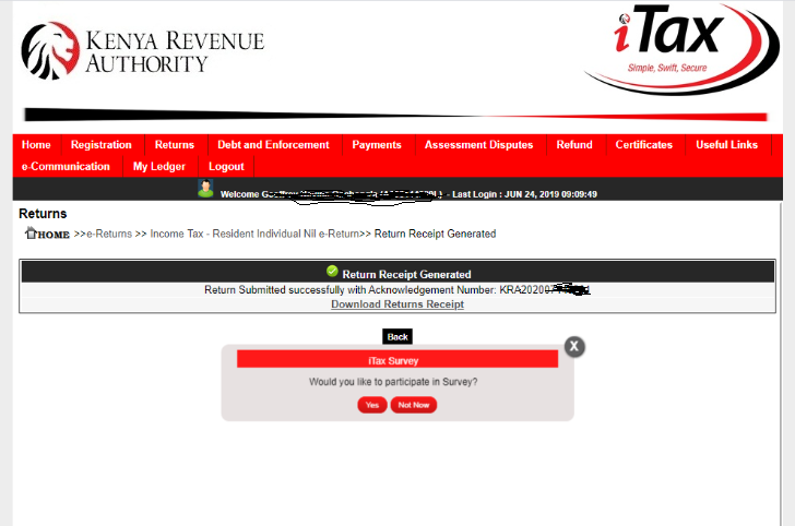 How To File KRA Nil Returns In 2020