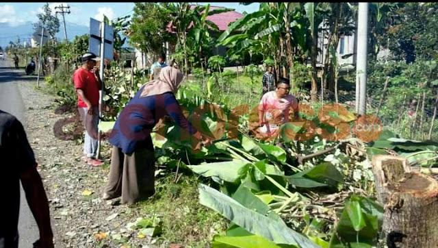 Hari ini, Camat Sakti laksanakan Gotong royong  enam gampong dalam kemukiman mali kecamatan sakti