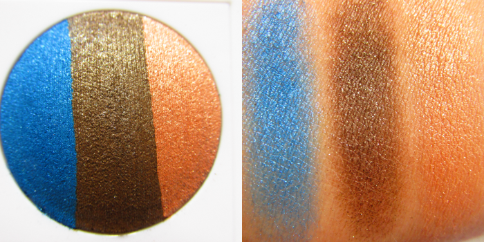 Review & Swatches: Mary Kay at Play - Baked Eye Trio - Out of the Blue