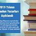 2019 Yılının Yükselen Yazarları Açıklandı