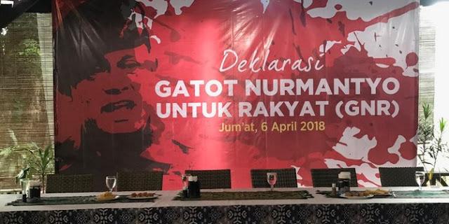 Koalisi Jokowi-Ma'ruf buka pintu terima dukungan relawan Gatot Nurmantyo