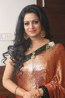 Udaya Bhanu lookssizzling in a Saree Choli at Gautam Nanda music launchi ~ Exclusive Celebrities Galleries 055.JPG