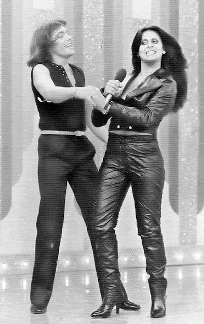 Pablo e Gretchen anos 80