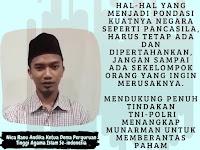 BEM PTAI Indonesia Mendukung Penangkapan Munarman Terkait Persoalan Radikalisme