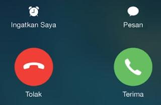Membuka aplikasi yang terkunci Menggunakan Panggilan Telepon