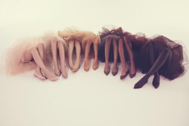 Christian Louboutin Solasofia nude ballet flats - fashion blog