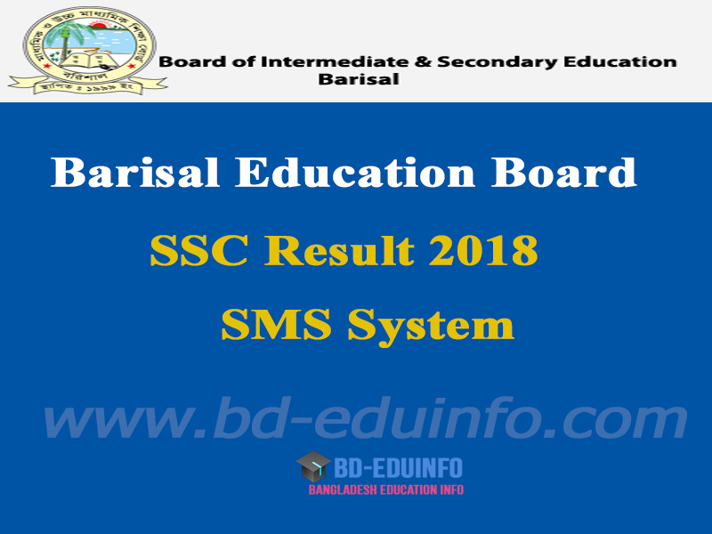 Barisal Board SSC Results 2018
