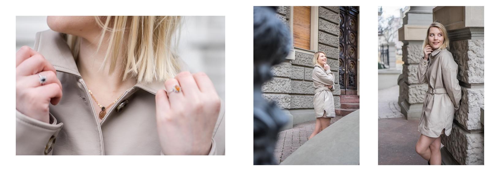 2a na-kd na kd lounge kod zniżkowy outlet rabat zakupy płaszcz na jesień kremowy sukienka modne stylizacje total look blog łódź fashion lifestyle