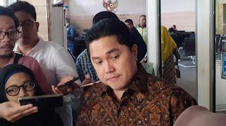 Ini Daftar Relawan Jokowi yang Diangkat Erick Thohir