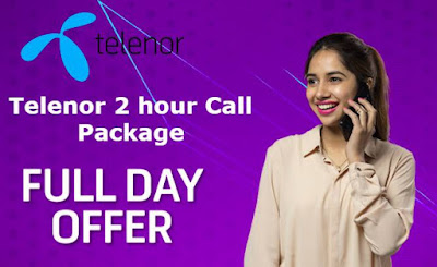 Telenor 2 hour Call Package Code Price Details