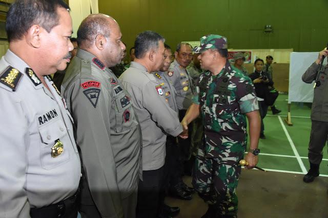 Panglima TNI : Kerja Sama TNI dan Polri Sangat Strategis Dalam Menjaga NKRI