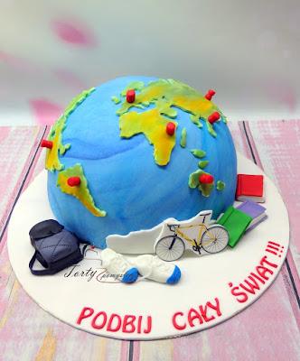 tort dla podróżnika