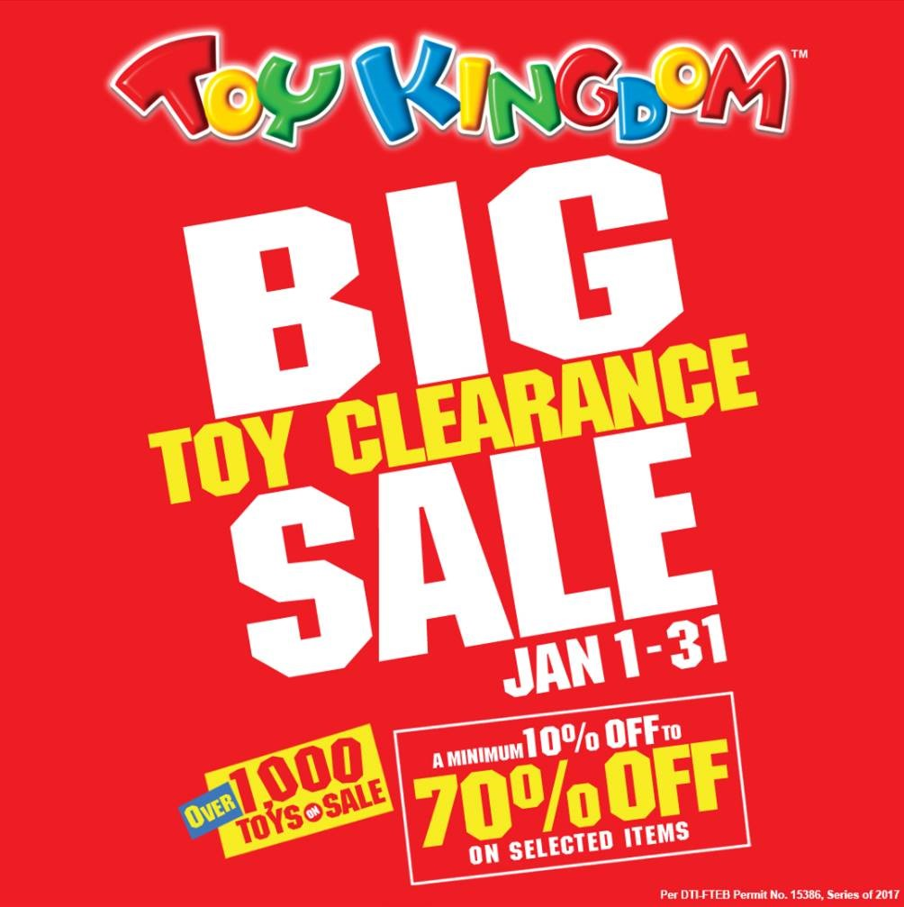 Looking for great toys at clearance prices? Good news! Over 1,000 toys are  on sale at an unbelievable price at Toy Kingdom! Find fun and engaging toys  for a ...