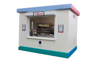 Food Cubes are modular servery buildings from PKL Group