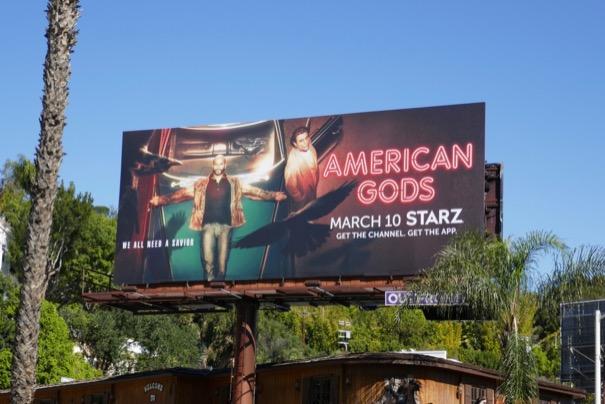 American Gods season 2 billboard