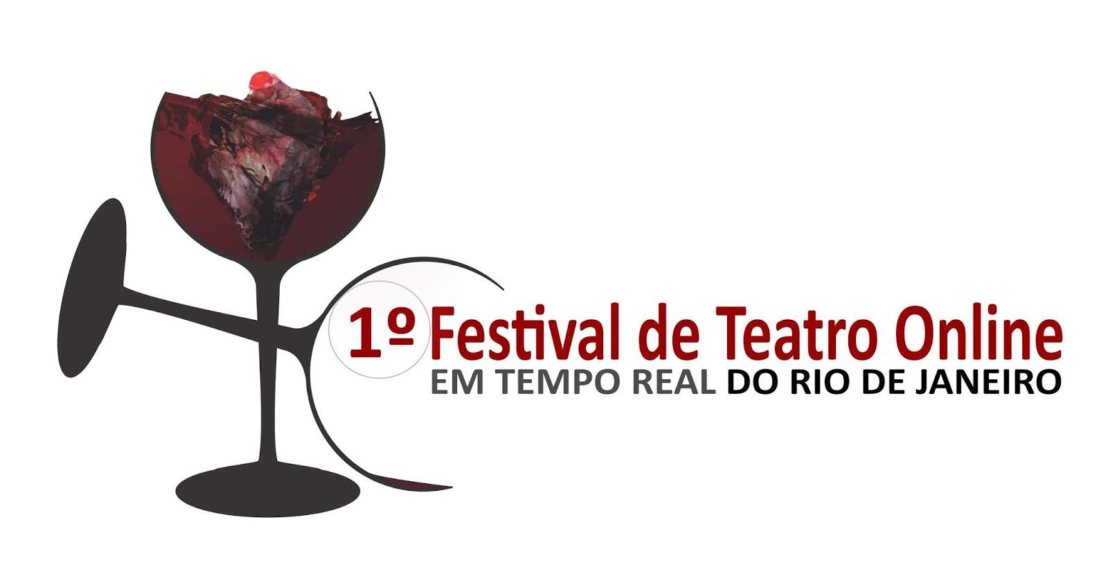 1° Festival de Teatro Online em Tempo Real do Rio de Janeiro está com as inscrições abertas para artistas de todo o país