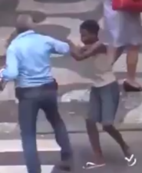 CCTV shows young thieves forcefully stealing from Olympic tourists in Rio, Brazil