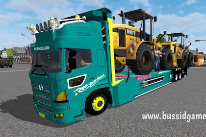 Mod Truck Hino Profia Selfloader (Bulldozer) By Bonfire
